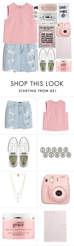 """Five story fire as you came..."" by this-side-of-paradise ❤ liked on Polyvore featuring Chicnova Fashion, Valentino, Converse, Aidan Gray, Lionette, philosophy and Tartine et Chocolat"