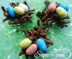 Bird's Nest Cookies - Enjoy the wonder of spring with this colorful ...