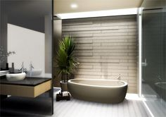 Japanese Bathroom Designs for Beautiful Traditional Look