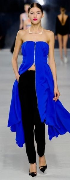 Christian Dior 2014 -- I really like this its a complete modern twist on a dress