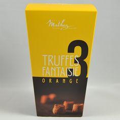 Engros leverandør af chokolade trøfler med appelsin