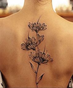 Fabulous Flower Tattoos For Women
