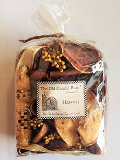 Made in USA Well Scented Potpourri Old Candle Barn Apple Crumb Rosehips 4 Cup Bag
