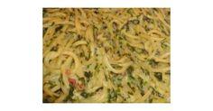 Spinat-Specksauce zu Nudeln