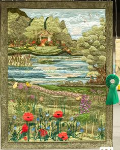 "Advanced quilts - 3rd prize  Hildegard Kr�ger  ""Spirit of summer""  Essen, Germany"