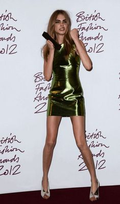 Cara Delevingne. There are no words.