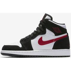 Air Jordan 1 Retro High Big Kids' Shoe. Nike.com ($95) ❤ liked on Polyvore featuring shoes