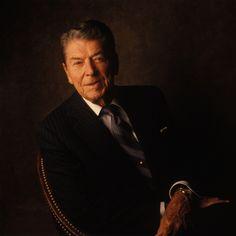 President Ronald Reagan © William Coupon