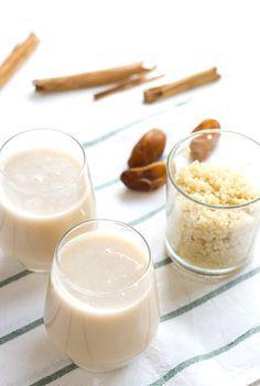 Leche de quinoa. La leche de quinoa es muy fácil de preparar en casa, está muy rica, es sana y además no tiene gluten, por lo que también es apta para celíacos   danzadefogones.com #danzadefogones #vegano #singluten