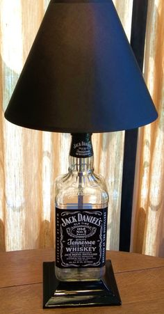 Hey, I found this really awesome Etsy listing at https://www.etsy.com/listing/74044308/jack-daniels-table-lamp $75