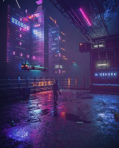 Running In The Night: The Superb '80s Cyberpunk Artworks By Daniele Gasparini