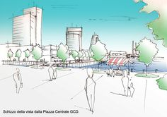 M.Arch in Projecting and Urban Planning - Dublin Docklands New Masterplan | Dario Matteini | Archinect