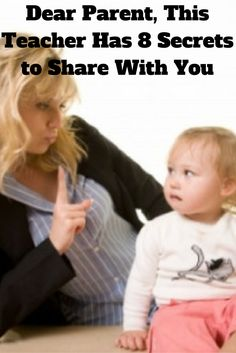 Dear #Parent, This Teacher Has 8 Secrets to Share With You-By Blair | Popular