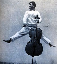 French musician Maurice Baquet combined cello playing with an acrobatics routine. Images from VU magazine, 1938 Urban Photography, White Photography, Street Photography, Robert Doisneau, Acoustic Music, William Eggleston, Martin Parr, Music Humor, Famous Photographers