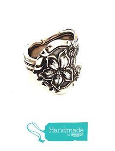 Antique Silver Spoon Ring - circa 1910 from Cypress Studio http://www.amazon.com/dp/B017YB6M18/ref=hnd_sw_r_pi_dp_IL6rwb1QZQG0D #handmadeatamazon