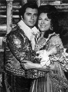 Renata Tebaldi (1922–2004) & Franco Corelli (1921–2003)