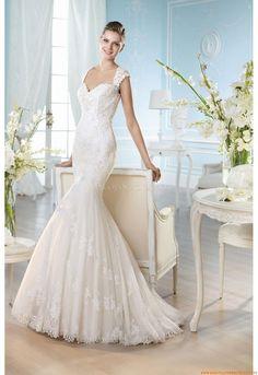 V-Ausschnitt  Elegante Brautkleider