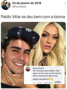 Gente não estou de preconseito com a Pablo só quis postar #superespeitoaPablo #AmoaPablo