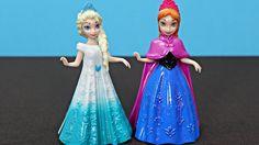 Il regno di ghiaccio. Le bambole de Disney il regno di ghiaccio Anna e Elsa