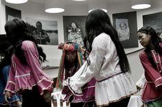 3. La comunidad indígena de Trujillo participa de la peregrinación. Crédito: Rodrigo Grajales.