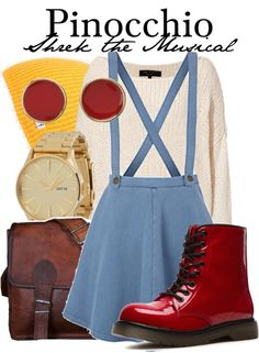 Pinocchio Outfit (Shrek the Musical)