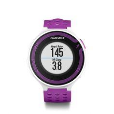 Garmin running watch - Forerunner 220 with HRM White Violet