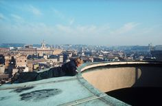 On the roof of the Pantheon - thanks Ben P and the photographer, Tom Matthews