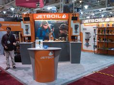 Jetboil Tradeshow Booth Design.