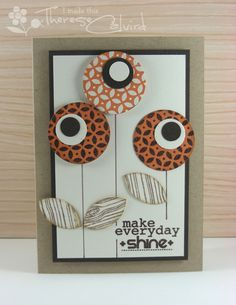 Make Everyday Shine handmade greeting card by Therese @ Lost In Paper