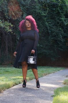 My Style: Vamping Up my #EverydayRunway for Fall in Simply Vera Vera Wang http://thecurvyfashionista.com/2016/09/everydayrunway-fall-simply-vera-vera-wang/