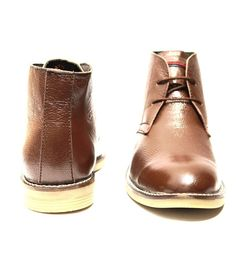 Brown Leather Boots  ₹ 2,449.00