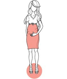 Ruched Maternity skirt sewing pattern- make it long and flare at bottom and lace top...