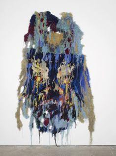 "eccontemporary:  "" Caroline Achaintre, Mother George, 2015, hand tufted wool, 280 x 190 cm  www.arcadefinearts.com  www.carolineachaintre.com  """