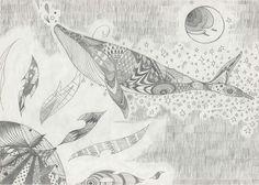 鯨の遊覧飛行| whale