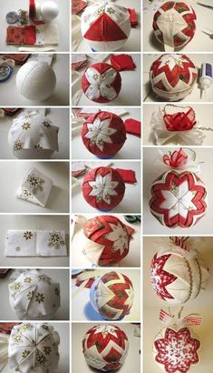 1 million+ Stunning Free Images to Use Anywhere Diy Quilted Christmas Ornaments, Folded Fabric Ornaments, Felt Christmas Decorations, Handmade Ornaments, Diy Christmas Ornaments, Handmade Christmas, Holiday Crafts, Christmas Sewing, Beaded Ornaments