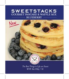 SweetStacks Blueberry Pancakes  http://www.sweetstacks.com/component/page,shop.product_details/flypage,flypage.tpl/product_id,44/category_id,1/option,com_virtuemart/Itemid,94/