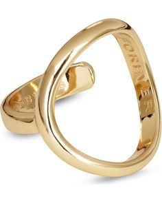 Maison Margiela | Gold Brass 'o' Ring | Lyst