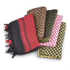 Shemagh Coalition Scarves, 5 Pack