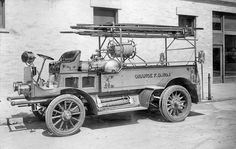 Orange Fire Department truck No. 1, 1912 by Orange County Archives, via Flickr