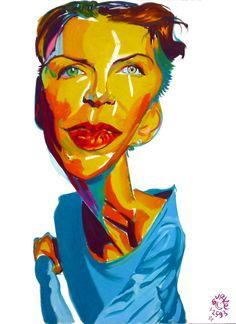 Annie Lennox by Phillip Burke