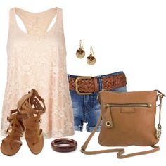"""""""Lace Tank"""" by daiscat on Polyvore"""