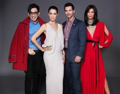 The 'Fab Four' of Asia's Next Top Model: Fashion Director and Judge DanielBoey, Host Nadya HutaGalng, Resident Photographer and Judge Todd Anthony Tyler and Model Mentor Joey Mead King – these industry luminaries are on the hunt for the first top model of Asia