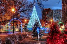 "Photo by John December ""Community Spirit Park"" Cathedral Square Park - Milwaukee, WI"