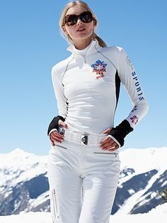 Gorsuch--lita tec white warm-up - ski pants Ski Fashion, Sport Fashion, Winter Fashion, Botas Ski, Ski Bunnies, Ski Wear, Winter Gear, Ski Pants, Ski And Snowboard