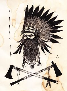 The Tomahawks are a possible stomach tattoo idea!!