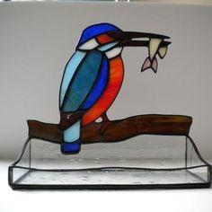 stained glass kingfisher - Google zoeken