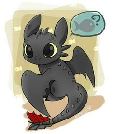 Kawaii Toothless Everybody!!! :3 #httyd #httyd3 #httyd2 #howtotrainyourdragon #toothless #toothlessthenightfury #toothlessthedragon #lightfury #nightfury #nightandlightfury #art #kawaii #cute #chibi #animals #dragons #hiccup #astrid #hiccstrid #hicctooth #soon #cinema #movie #film #march #like #followme