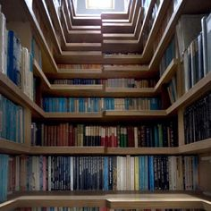 Library staircase..!