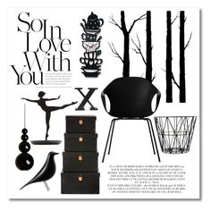 Black Love By Caymansunshine Liked On Polyvore Featuring Interior Interiors