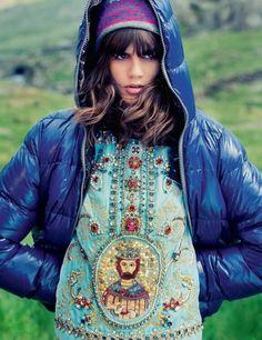 Dolce&Gabbana FW14 Editorial ELLE UK